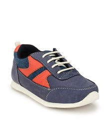 Tuskey Lace-up Jogger Shoes - Blue