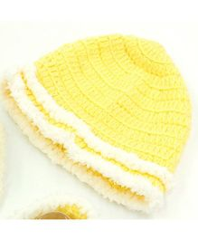 Magic Needles Mink Cap - Yellow