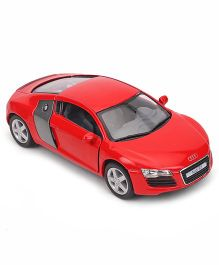 Kinsmart Audi R8 Die Cast Toy Car With Openable Doors - Red