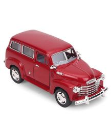 Kinsmart Chevrolet Suburban Carrycall Die Cast Toy Car - Maroon