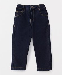 Spark Full Length Jeans - Dark Blue