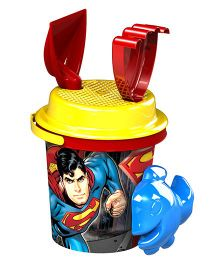 Demastil Superman Beach Sets Pack of 4 - Red Yellow