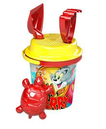 Demastil Tom & Jerry Beach Sets Pack of 4 - Yellow Red