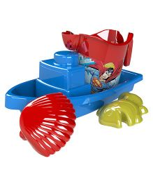 Demastil Superman Beach Sets Pack of 4 - Red Blue Green