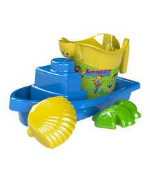 Demastil Looney Tunes Beach Sets Pack of 4 - Yellow Blue Green