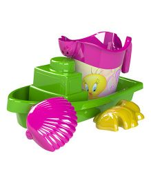 Demastil Tweety Beach Sets Pack of 4 - Green Pink Yellow