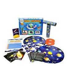 I Think Game Space Explorer Space Adventure Learning Activity Box - Multicolor