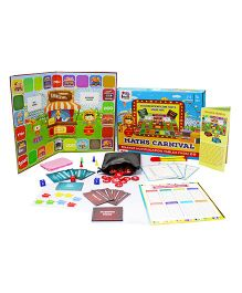 I Think Game Maths Carnival Exciting Maths Multiplication Game - Multicolor