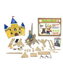 I Think Game Trebuchet War Learning the concept of Hydraulics & Water Pressure - Multicolor