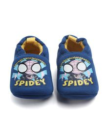 Alle Alle Booties Spidey Print - Blue