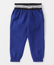 Button Noses Full Length Lounge Pant - Royal Blue
