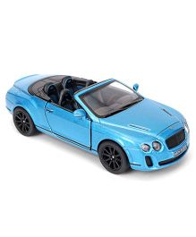 Kinsmart Die Cast Bentley Continental Supersports Toy Car - Blue
