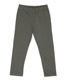 Pikaboo Full Length Printed Leggings - Dark Grey