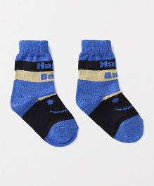 Model Happy Baby Design Woollen Socks - Blue