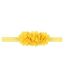 Angel Closet Flower Headband - Yellow