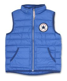 Converse Sleeveless Jacket Star Patch - Blue