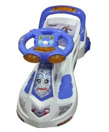 Dash By ARK Transformers Manual Push Twister Magic Car - Blue
