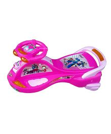 Dash By ARK Transformers Manual Push Twister Magic Car - Pink