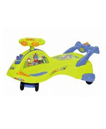 Dash By ARK Transformers Manual Push Twister Magic Car - Green