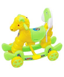 Dash by ARK Horse 2 in 1 Rocker Cum Ride-On - Green