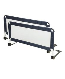 Honey Bee Bed Rail Guard Pack of 2 - Navy Blue