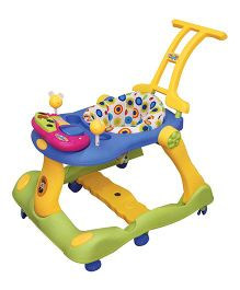 Ehomekart 3 in 1 Musical Activity Baby Walker cum Runner - Yellow