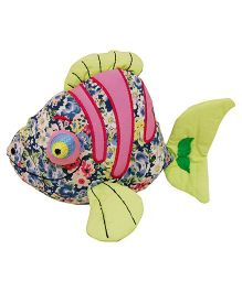 Surbhi Fish Soft Toy Green - 22 cm