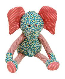 Surbhi Elephant Soft Toy Multi Color - 40 cm