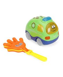 Mitashi Skykidz Clap And Zoom Vehicle Ambulance - Green