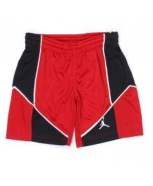 Jordan Dual Color Shorts - Black & Red