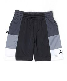 Jordan Shorts Solid Color - Grey White Black