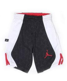 Jordan Shorts Solid Color - White Black
