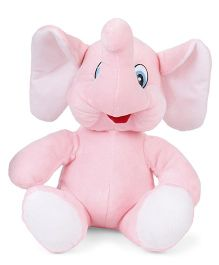 Funzoo Elephant Soft Toy Pink Height - 20 cm