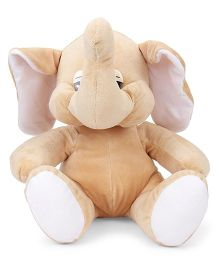 Funzoo Elephant Soft Toy Cream - 30 cm