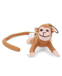 Funzoo Monkey Soft Toy Brown - 20 cm