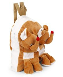 Funzoo Soft Twin Appu Shape Toy Bag Brown - 12.9 inches