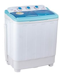 DMR 46-1298S Compact Twin Tub 4.6 Kg Semi Automatic Washing Machine - Blue