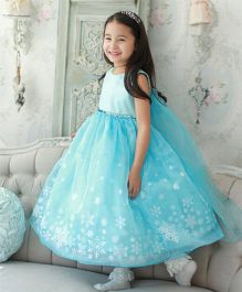 Princess cart Princess Snowflake Ball Gown - Blue