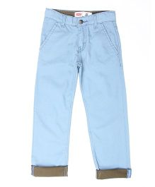 Levi's Full Length Trouser With Pockets - Blue