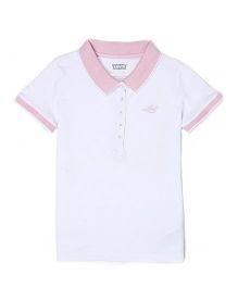 Levi's Half Sleeves T-Shirt - White Pink