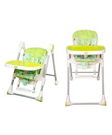 Harry & Honey 2 in 1 High Chair 881 - Green