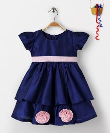 Pspeaches Princess Style Dress - Navy Blue