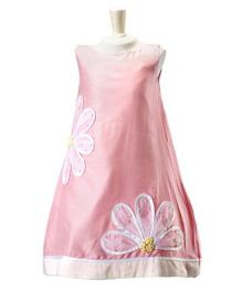PinkCow Floral Embroidered Shift Dress - Pink