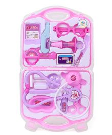 Smiles Creation Pretend Play Doctor Set - Pink & Purple