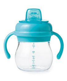 Oxo Tot Transitions Soft Spout Sippy Cup With Removable Handles (Aqua) - 150 ML