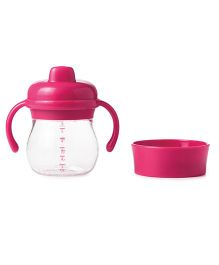 Oxo Tot Transitions Sippy Cup Set Pink - 175 ml