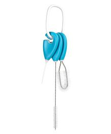 Oxo Tot Straw & Sippy Cup Top Cleaning Set - Blue