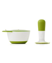 Oxo Tot Food Masher - Green
