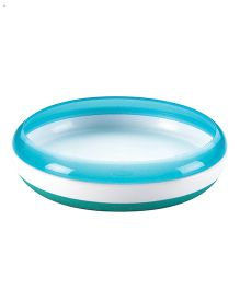 Oxo Tot Plate With Removable Ring - Aqua Blue