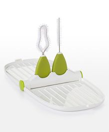Oxo Tot Breast Pump Parts Cleaning Kit - White Green